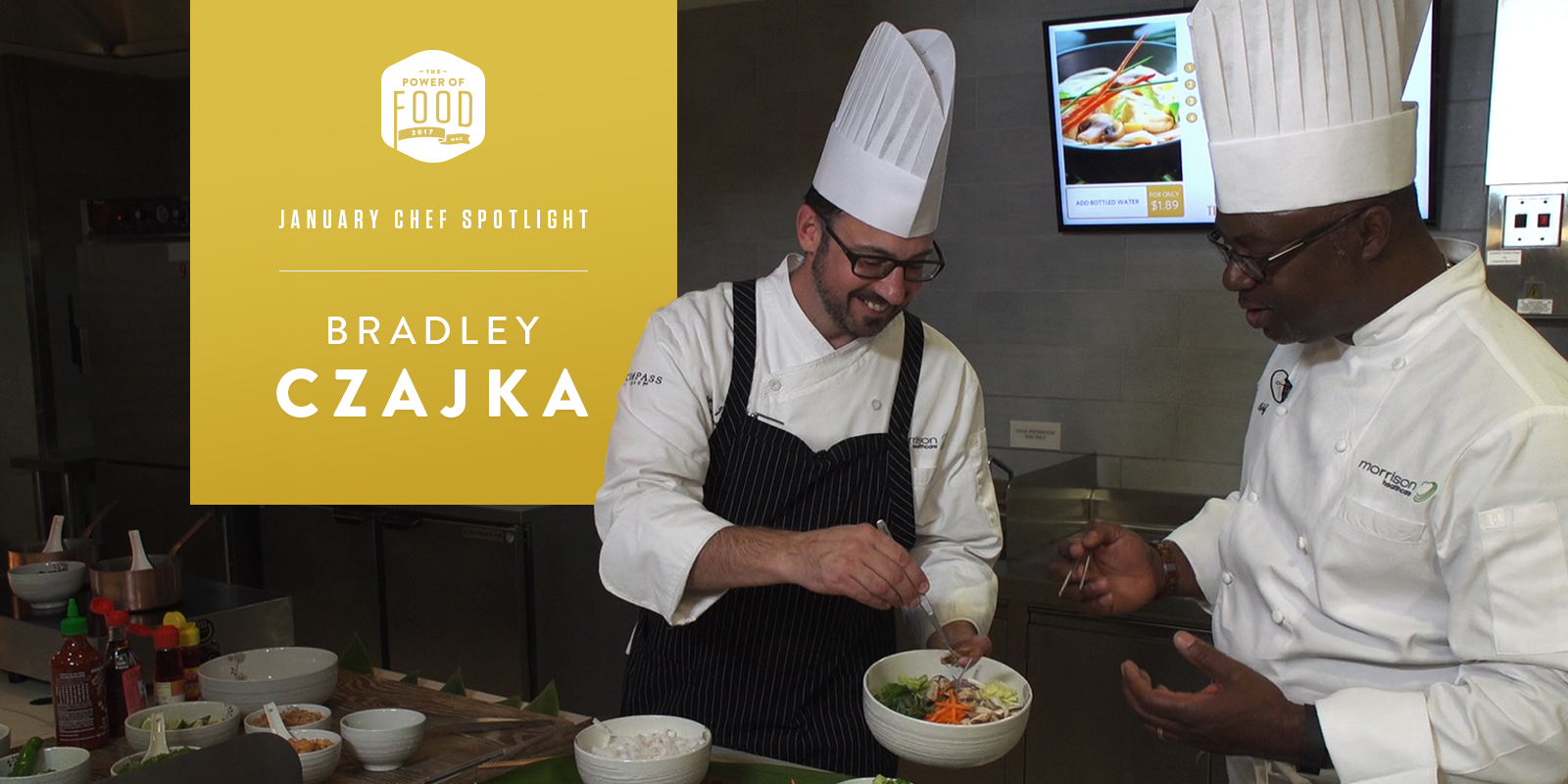 Chef Bradley Czajka is the Systems Executive Chef and a valued member of the Food and Nutrition Service team at Children's Healthcare of Atlanta.